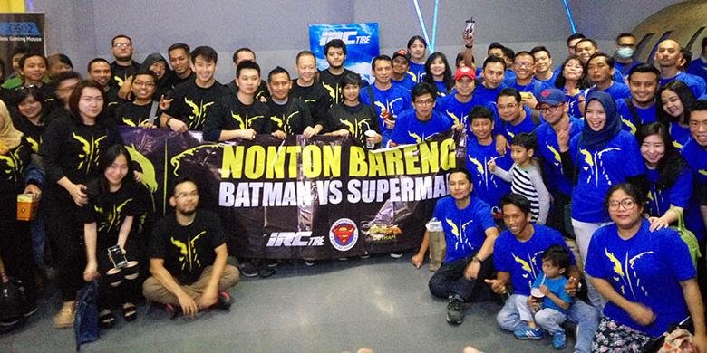 "IRC Ajak Nonton Bareng ""Batman vs Superman"""